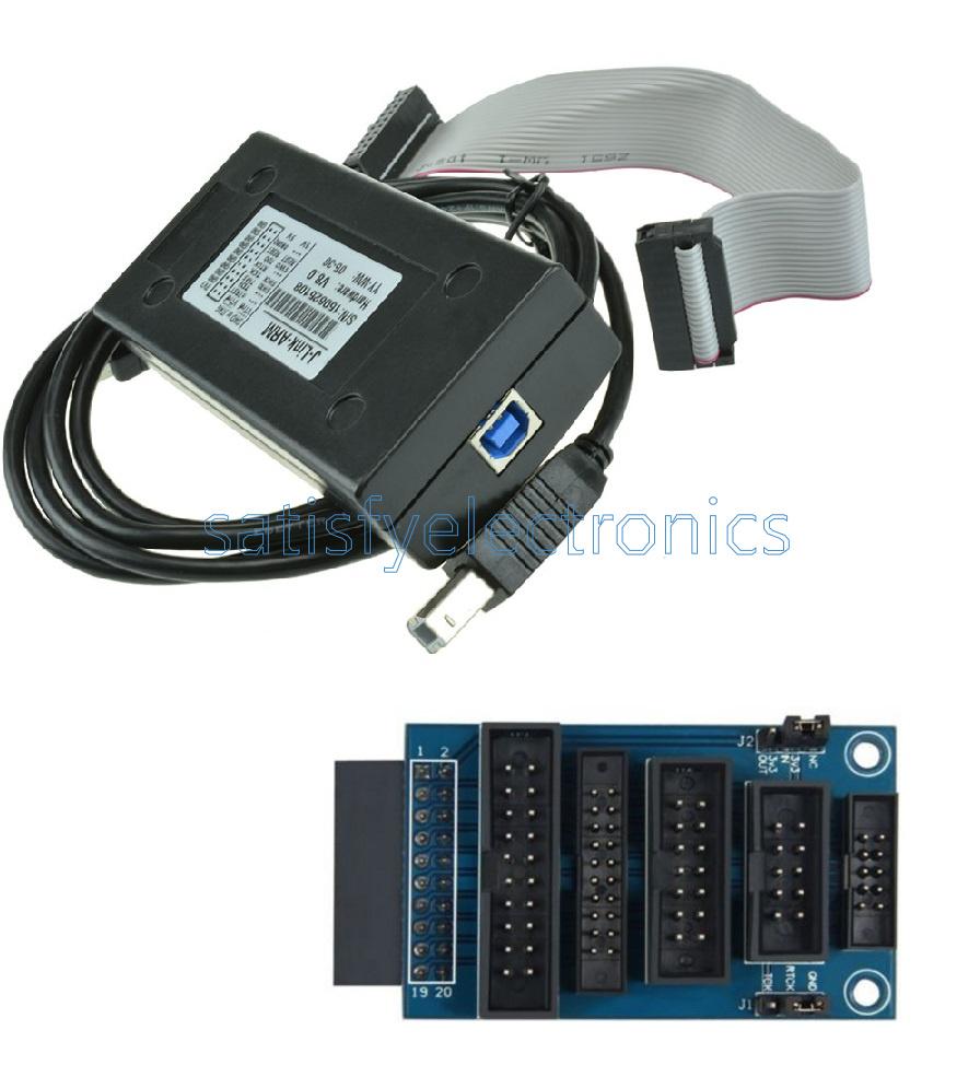 High Speed J-Link JLink V8 USB ARM JTAG Emulator Debugger J-Link V8 ...