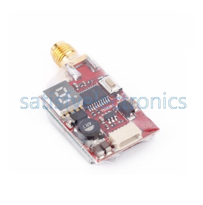 5.8G 40CH TS5828L TS5828 FPV 600mW 190mA//12V Transmitter With RP-SMA Antenna CA