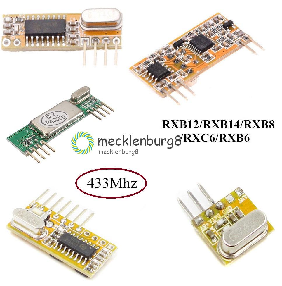 433MHz High-sensitivity Superheterodyne Wireless Receiver Module 3.3V-5.5V