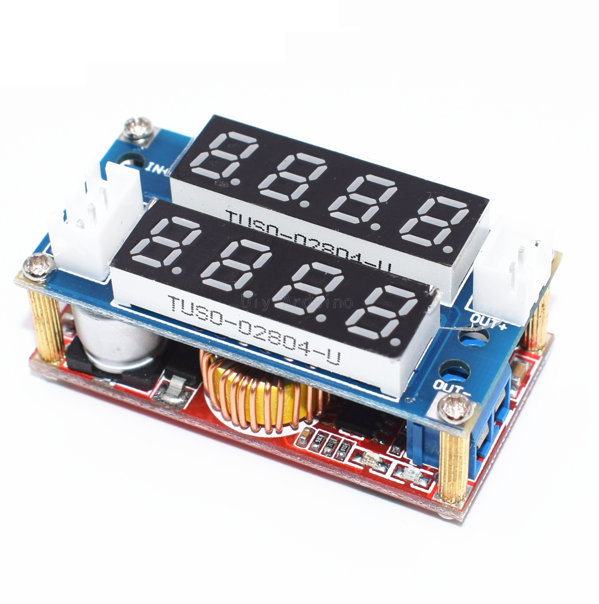 5a Constant Current Voltage Cc Cv Led Driver Battery Charging Charger Voltmeter Ammeter