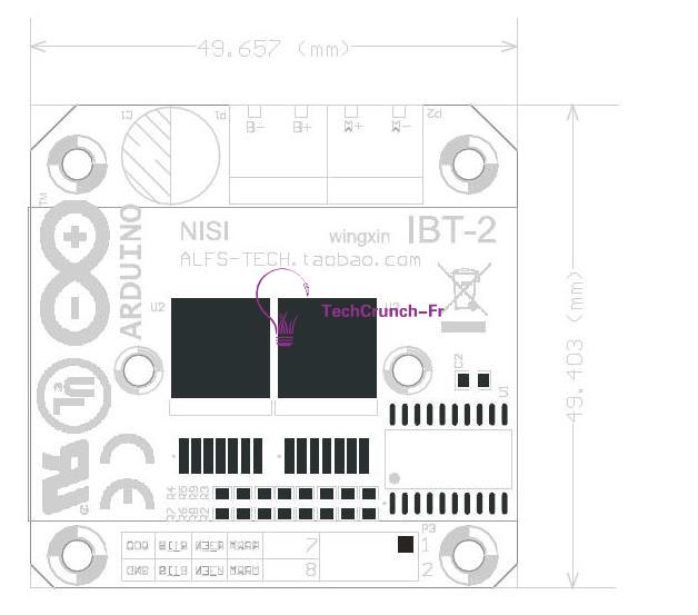 semiconductor bts7960b btn7960 43a h