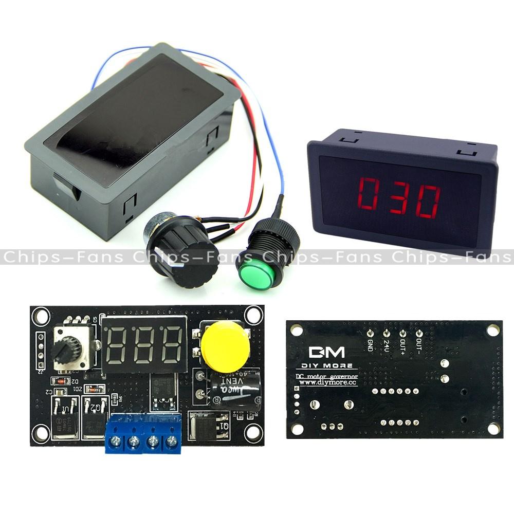 Max 8a Dc 6 30v 12v 24v 16khz Pwm Digital 3 Bit Led Motor Speed How To Build Controller