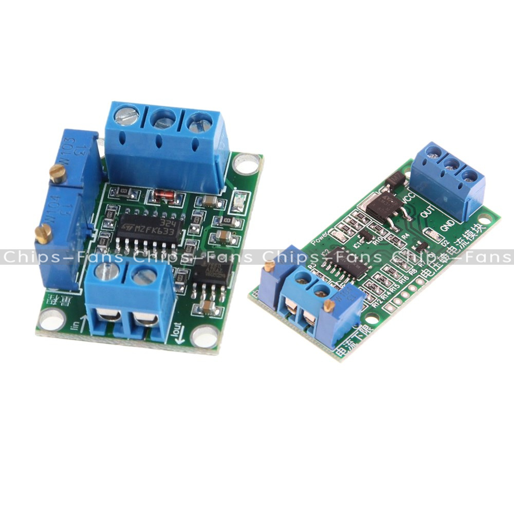 Current 4 20ma 0 5v Voltage Transmitter Isolation Signal Converter To Module