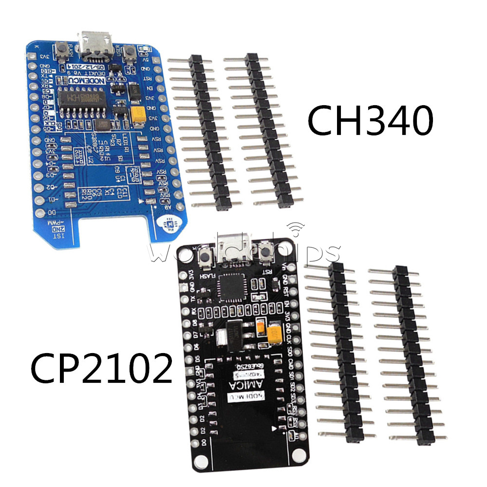 Details about ESP8266-12E/12F CH340G/CP2102 WIFI Internet Development  Adapter for NodeMcu Lua