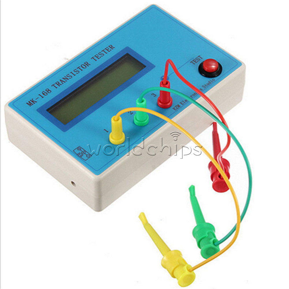 MK-168 Transistor Tester Capacitor Inductance LCR NPN PNP Mosfet ...