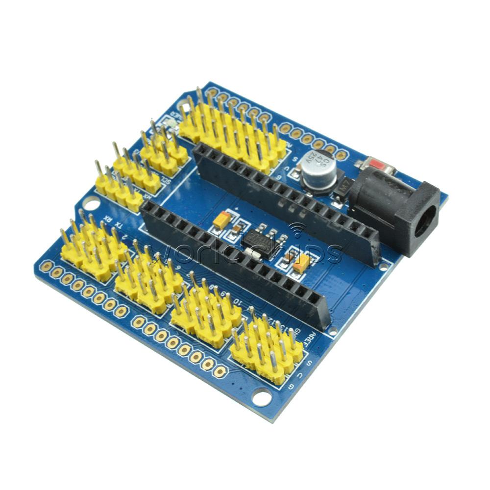 Nano i o expansion sensor shield extension board for
