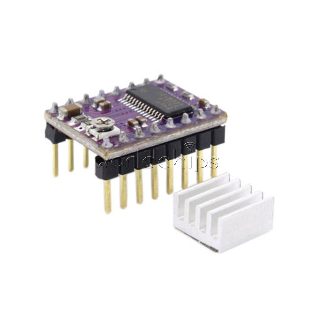 Arduino drv8825 stepper motor driver module 3d printer for Ti stepper motor driver