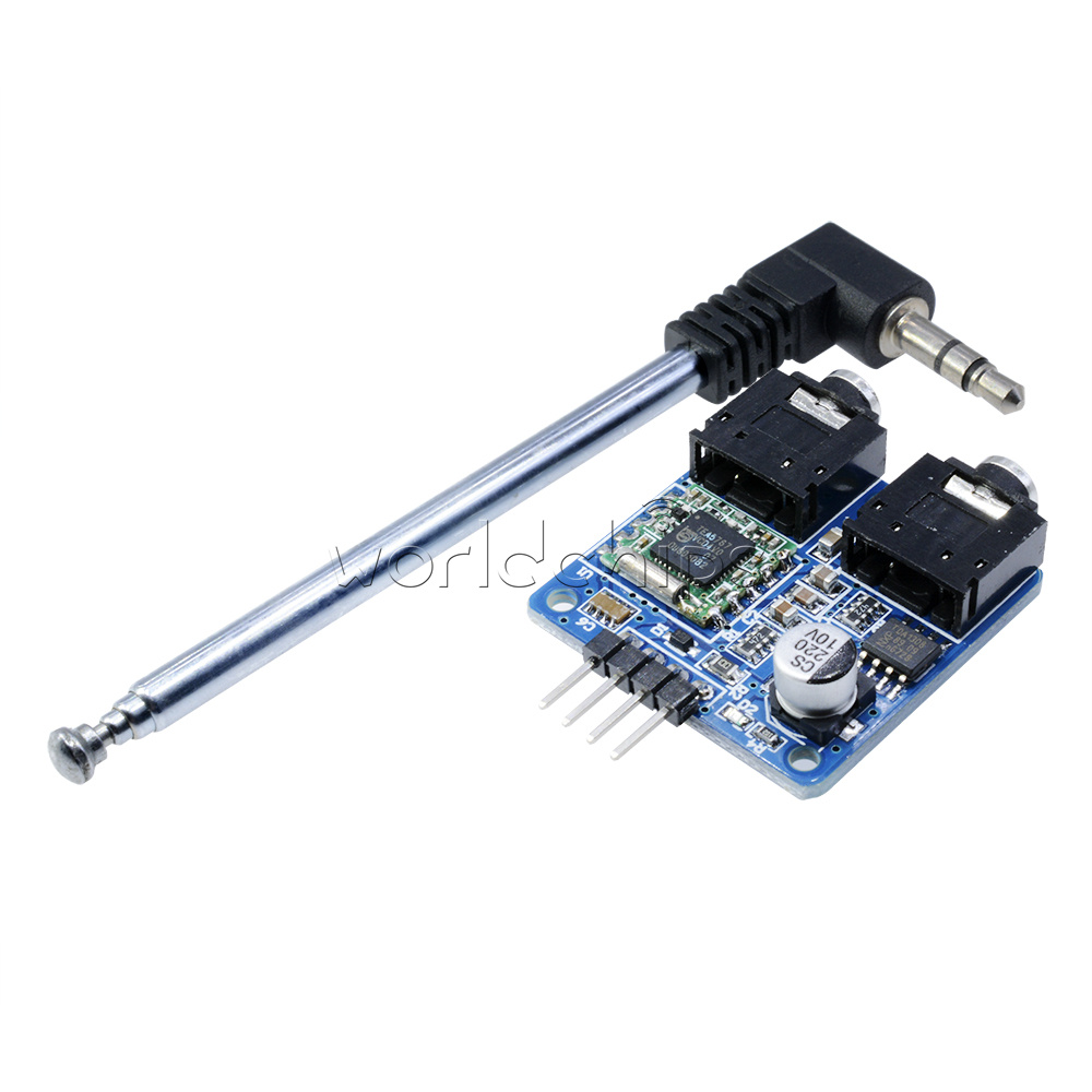 Mhz tea fm stereo radio module cable antenna