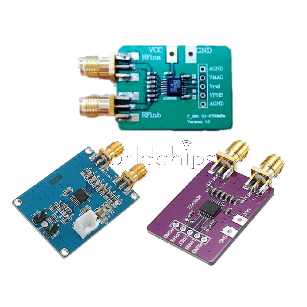 Ad8302 Amplitude Phase Detector Logarithmic Amplifier Bandwidth 27 Fast 8302 Is A Detection Circuit Module Using Chip Used For Rf If And Measurement Of Monolithic Integrated Circuits
