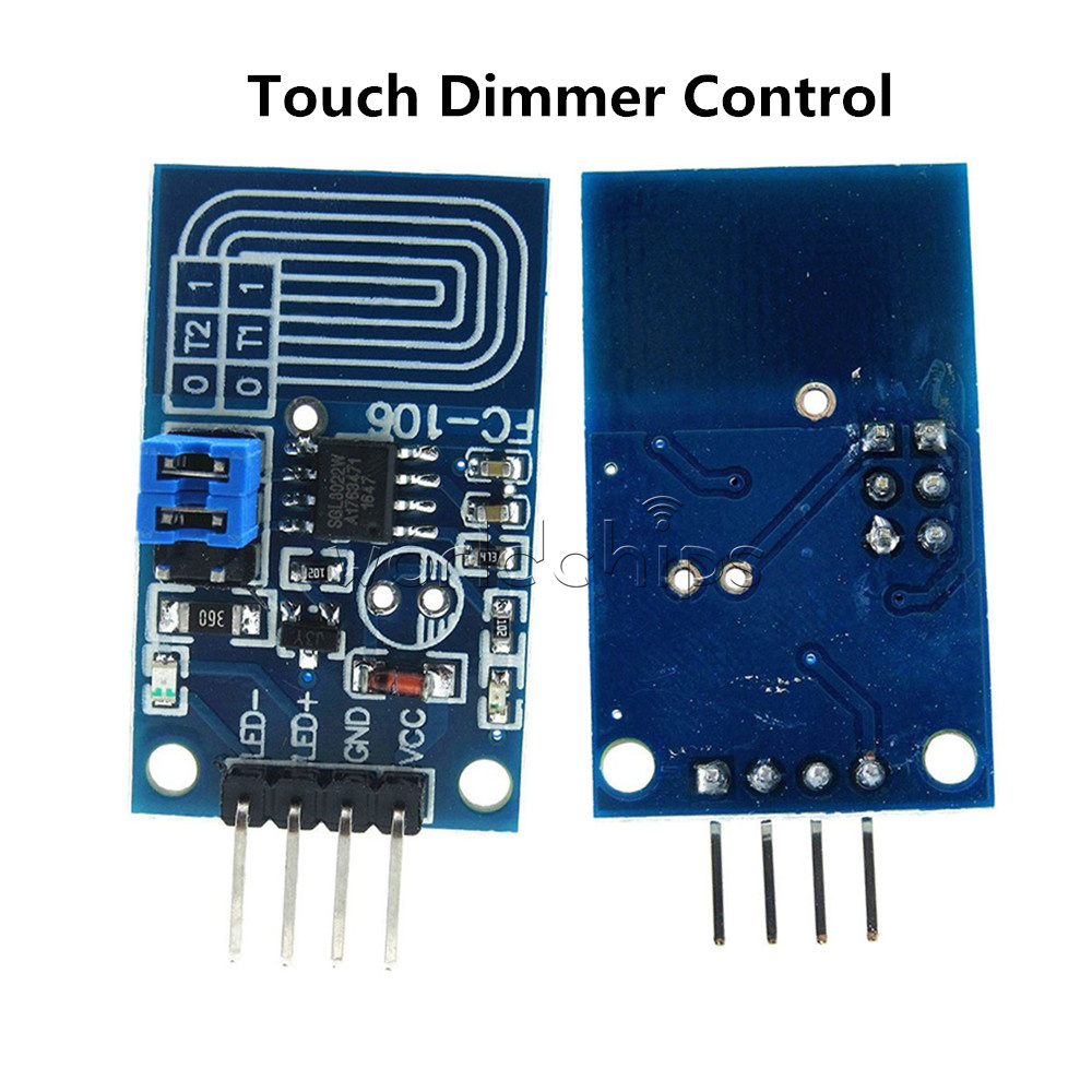 Constant Voltage Capacitive Touch Dimmer Pwm Control Panel Circuit For Bulbs 5v Led Light Switch Module