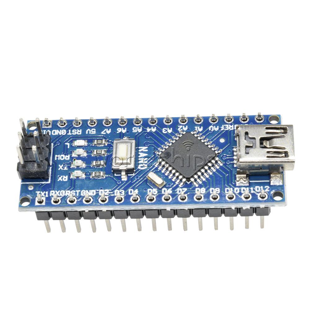 Nano controller board compatible with arduino