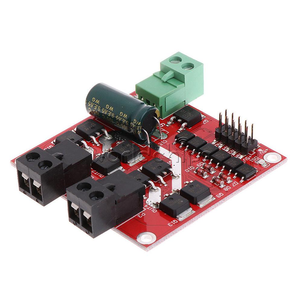 7a 160w 12v 24v Dual Dc Motor Driver L298 Module H Bridge Led 2 Ch L298n Diagram Along With Circuit Applications Pwm Generator