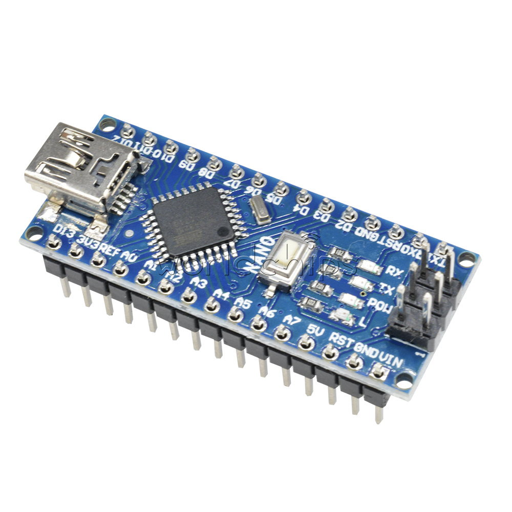Nano controller board compatible with arduino