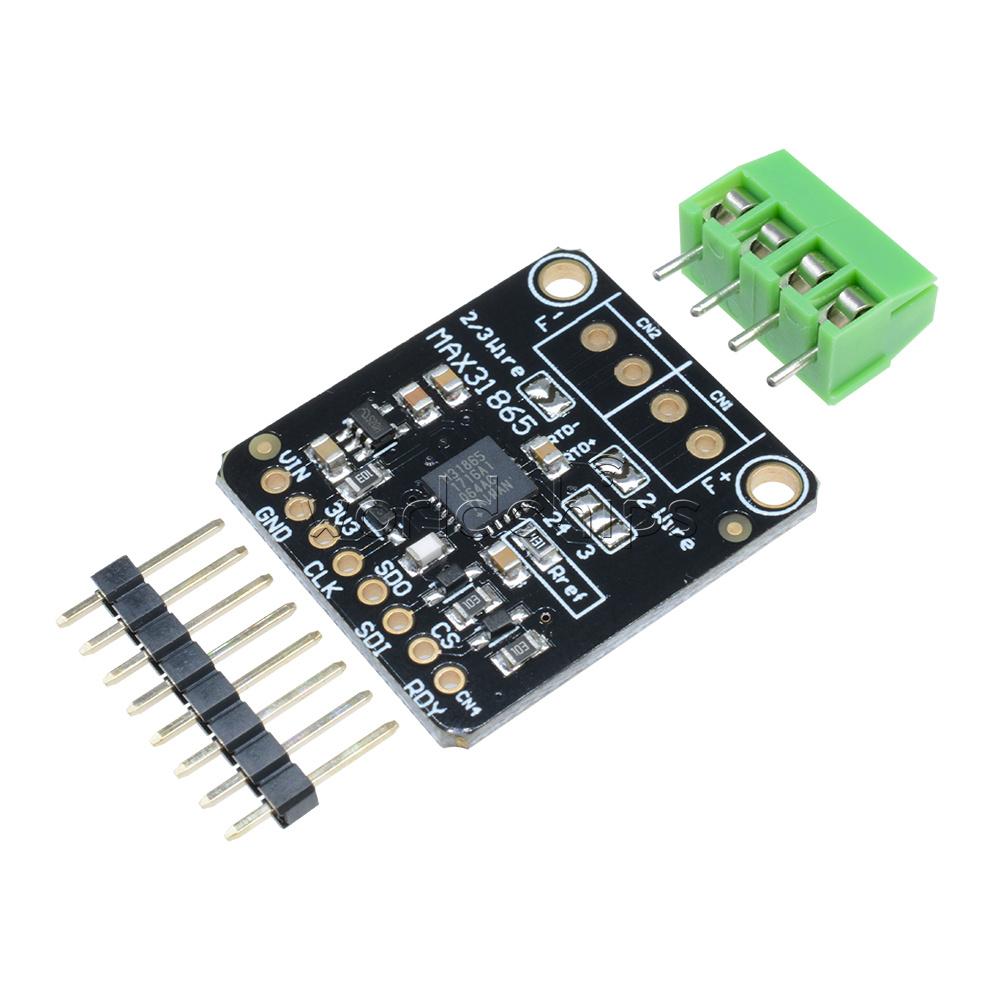 Arduino max pt rtd temperature thermocouple