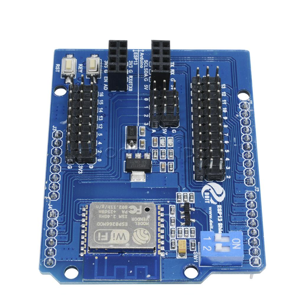 Esp web sever serial wifi shield board module