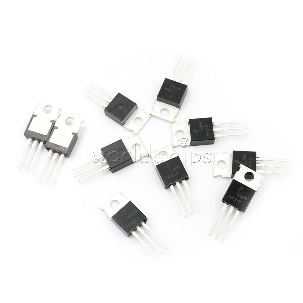 Dc Power Supply 9v Using Tip31 Transistors T Amperes Circuit Design Isl8036 Switching 20pcs Tip31c Npn Transistor 100v 3a To 220 High Quality Low Slayer