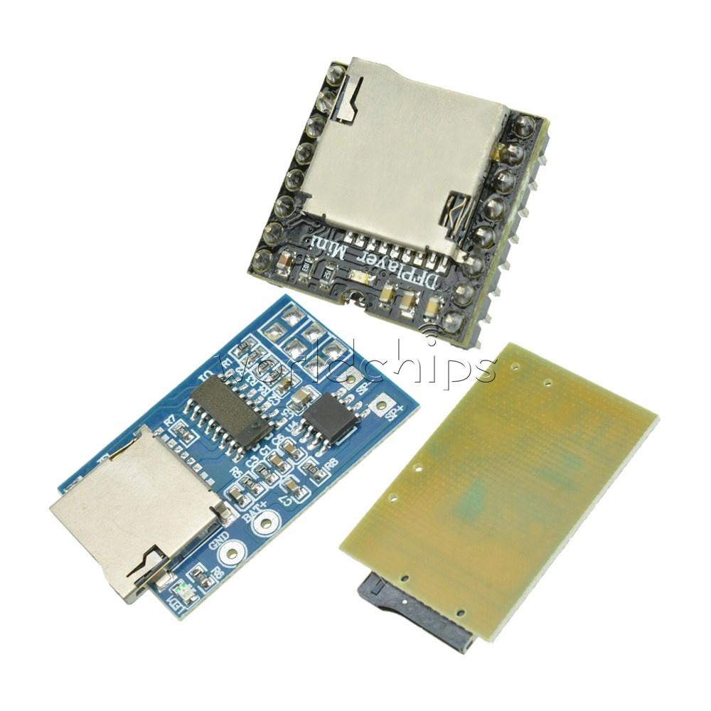 Gpd2846a Tf Card Mp3 Decoder 2w Amplifier U Disk Wmv Mini Audio Background Music Voice Module