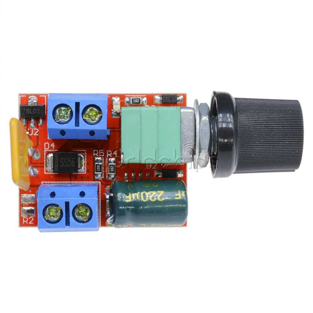 Mini 5a Motor Pwm Speed Controller Dc 3 35v Speed Control