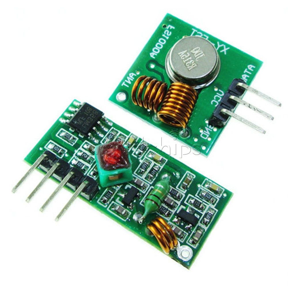 Details about 5PCS 315Mhz RF transmitter and receiver kit Module for  Arduino ARM Raspberry Pi