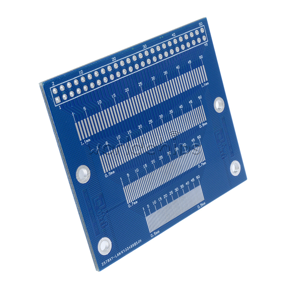 Pin Pitch 05mm To 12mm Adapter Pcb Fpc Board 20 35inch Tft Lcd Smt Dip Pcba Suitable For Camera Circuit And Electronic Smd