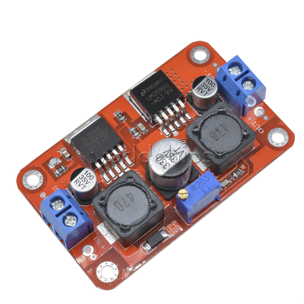 New Xl6009 Lm2596s Dc Step Up Down Boost Buck Voltage Power Circuits Apmilifier 5v To 12v Lm2577 Converter Module
