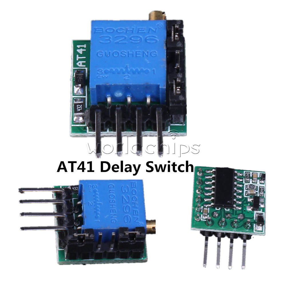 At41 Delay Circuit Timing Switch Module 1s 40h 1500ma For Timer