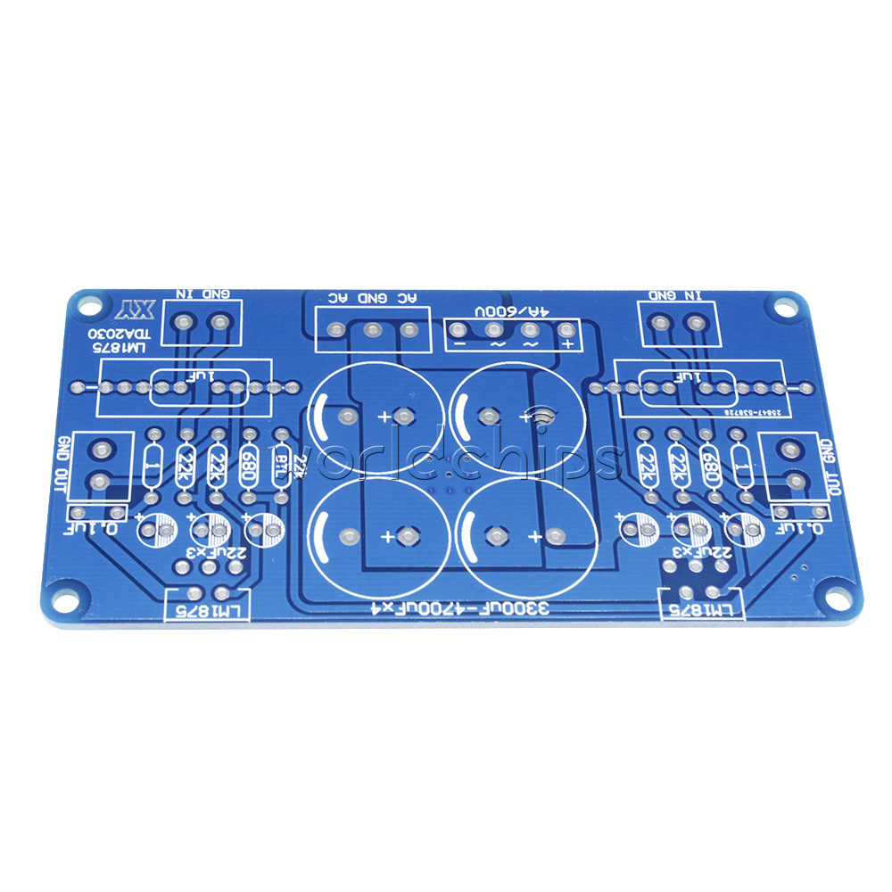 20w Audio Amplifier Using Lm1875 Lm675 Tda2030 Power Ocl Btl Pcb Board Compatible With Dual Channel And Mono Two Installation Styleswith Big Low Distortion Sweet Sound Etc
