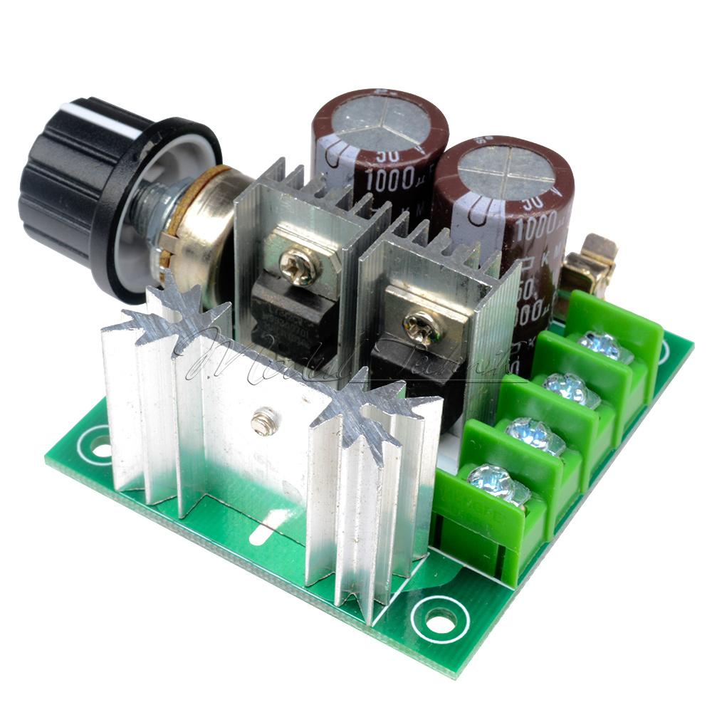 10-50V 100A 5000W Reversible Motor Drehzahlregler Speed Controller PWM Control