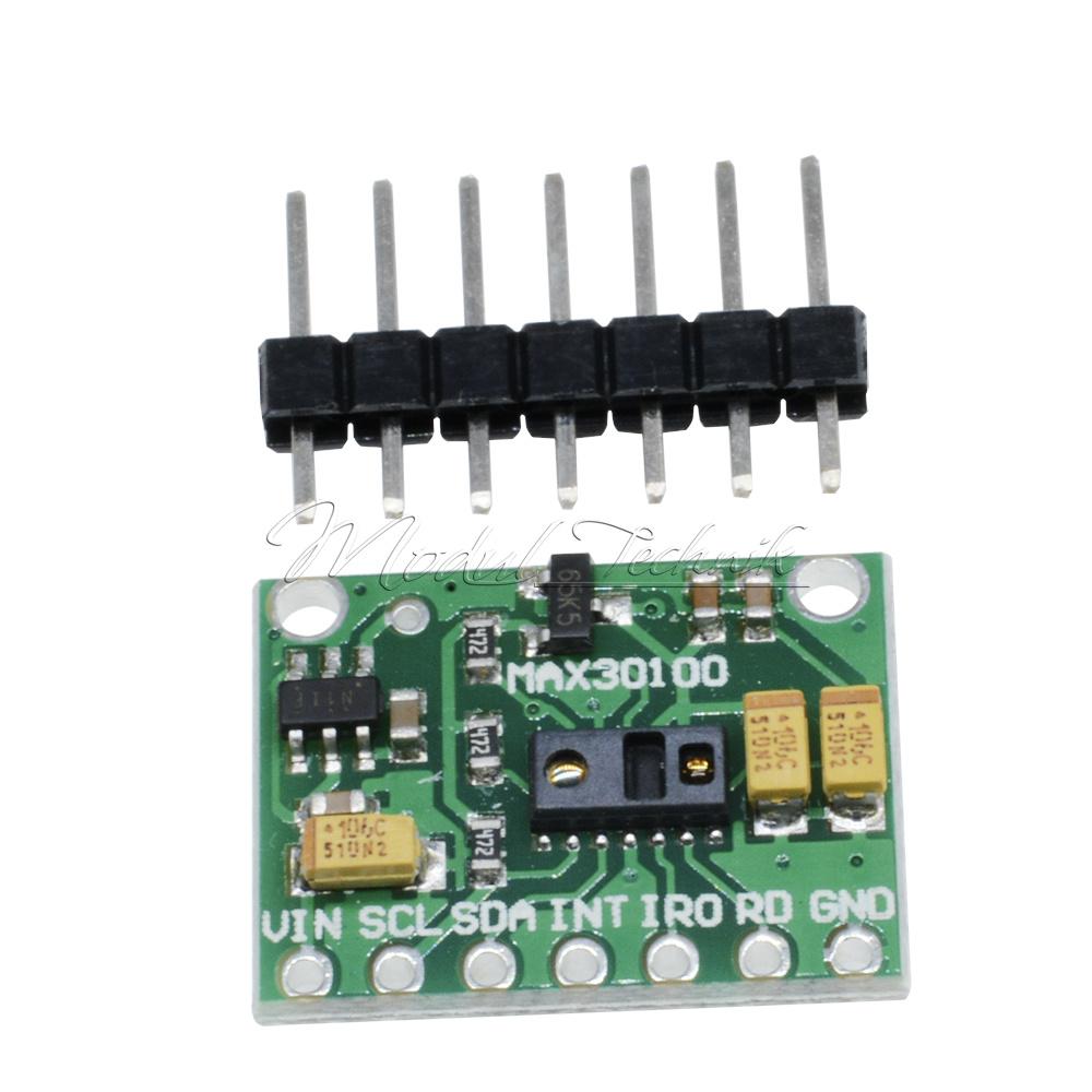 MAX30100 Heart Rate Sensor Pulse Blood Oxygen Sensor Module Compatible with E1Q2