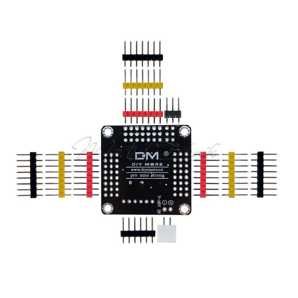 new pro mini atmega328 board 5v 16m 14 pins compatible for