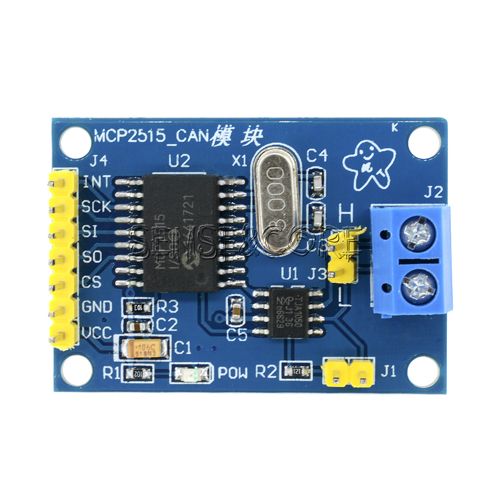 Can Bus Spi Mcp2515 Can Transceiver Tja1050 F 252 R Arduino