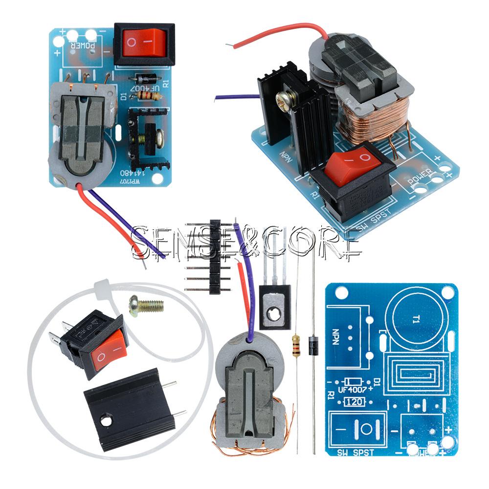 High Voltage Kit : Kv v high voltage inverter generator arc cigarette