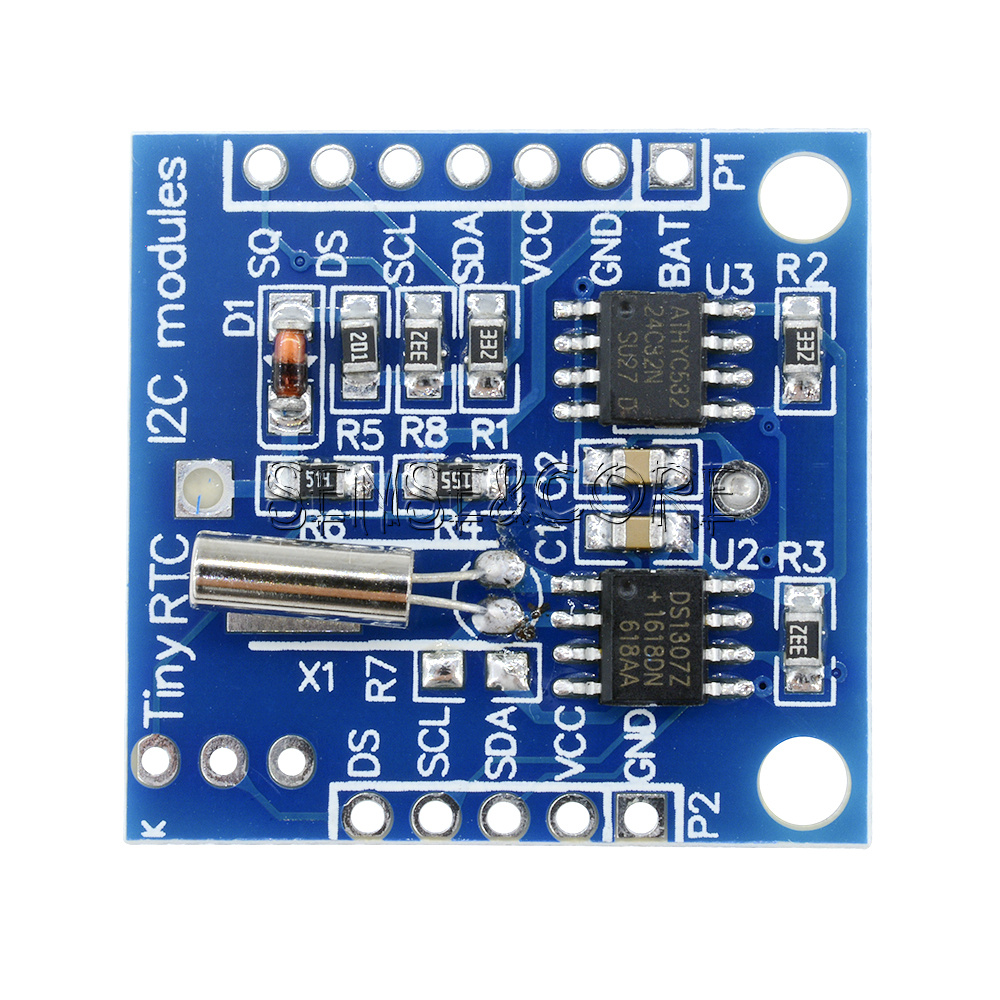Real time clock i c rtc ds zeit uhr module at