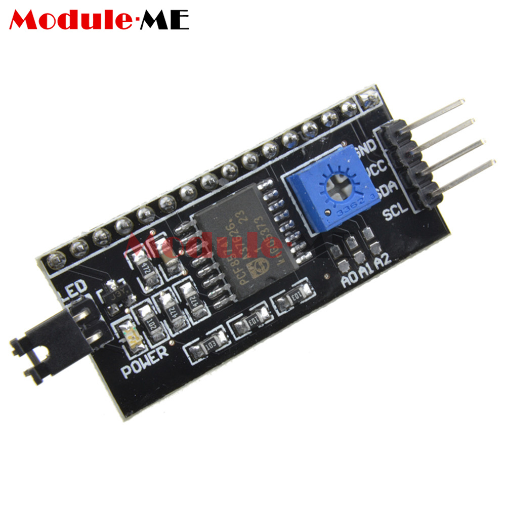 Lcd display module lcm blue blacklight character