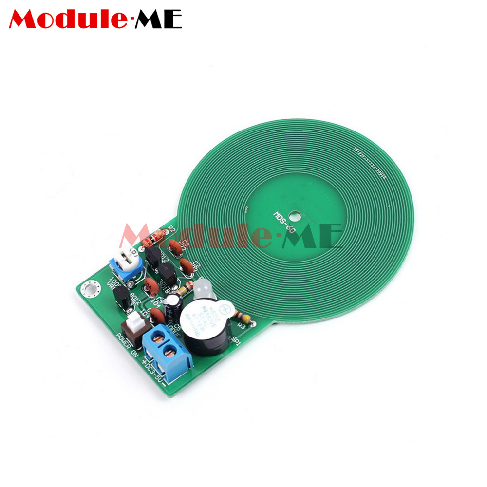 Metal Detector Kit Electronic Dc 3v 5v 60mm Non Contact Sensor How To Build A Circuit Diy Uk