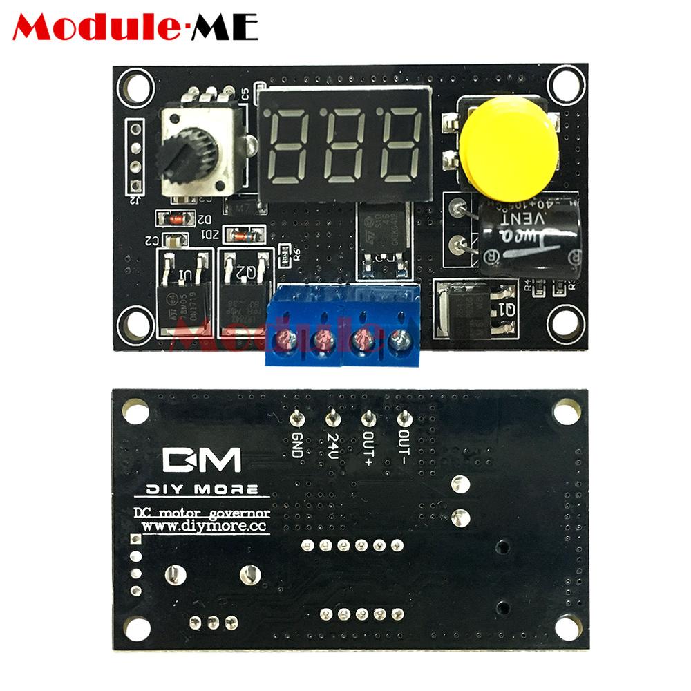 12v 24v Dc6 30v Max 8a 16khz Pwm Digital 3 Bit Led Motor Speed How To Build Dc Controller M