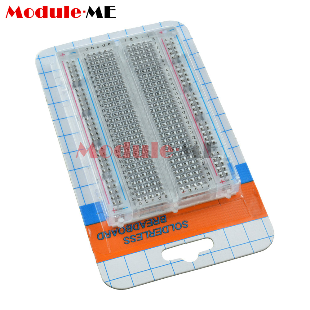 Prototype Mini Breadboard 700/830 Tie-points MB102 SYB 120 Jumper ...