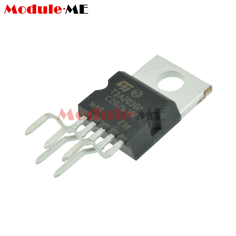 10pcs Tda2030a Tda2030 To 220 18w Hi Fi Amplifier 35w Low Power Circuit Driver Ic St Mo