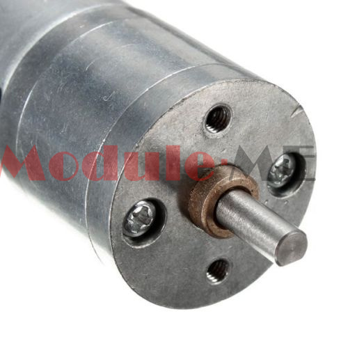 Speed reduction gear motor electric 12v dc 60rpm powerful for Reduction gearbox for electric motor