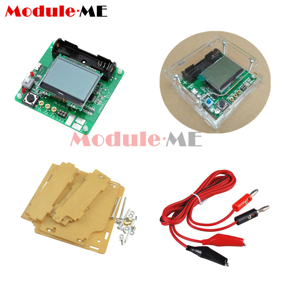 Newest Transistor Inductor Capacitor Esr Meter Mg328 Digital Lcd Tester Circuit Case M