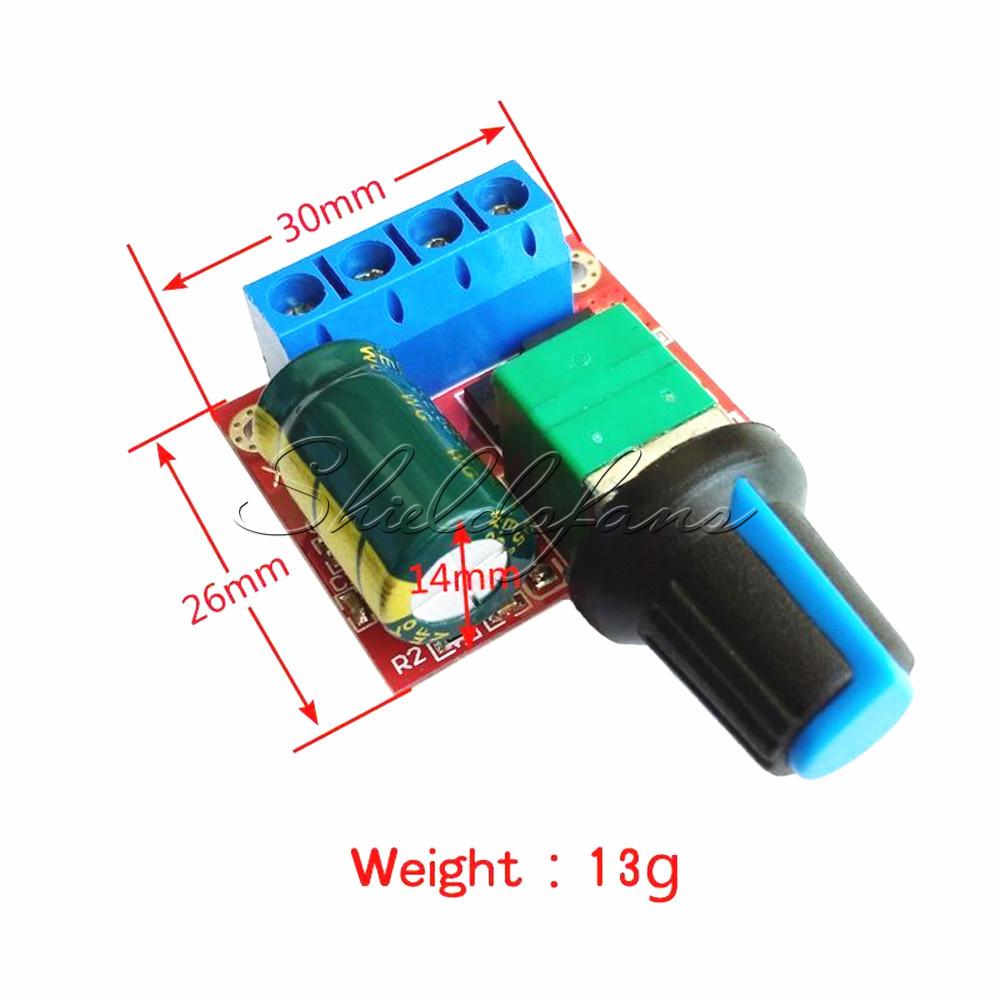 45v35v 5v 6v 12v 24v 5a Mini Pwm Dc Motor Speed Controller Switch By Sg3525 Details