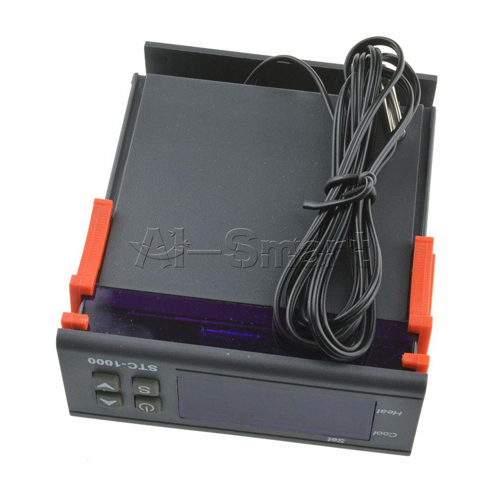 Stc 1000 Digital Temperature Controller Temp Sensor Thermostat Wiring Diagram