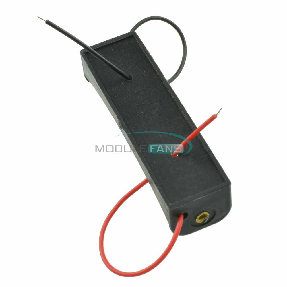 10PCS Plastic Battery Storage Case Box Holder Soldering For 1.5V AA Battery