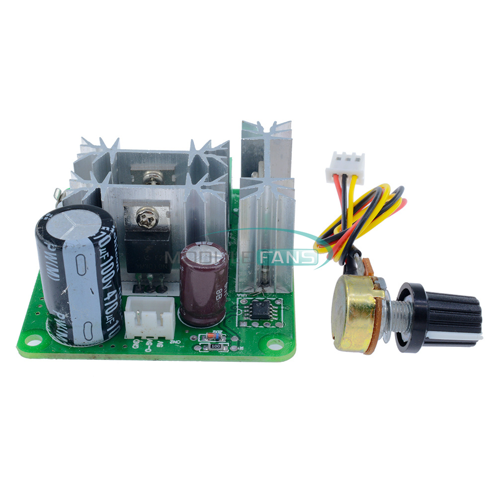 6 90v 15a Dc Motor Speed Controller Pulse Width Pwm Speed Regulator Switch M Ebay
