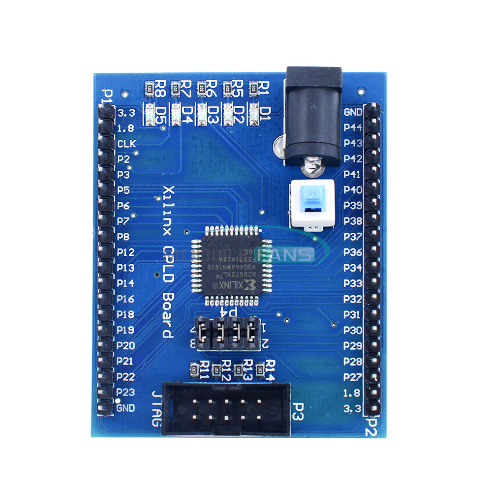 Xilinx XC9572XL CPLD Development Board Brassboard Learning Board
