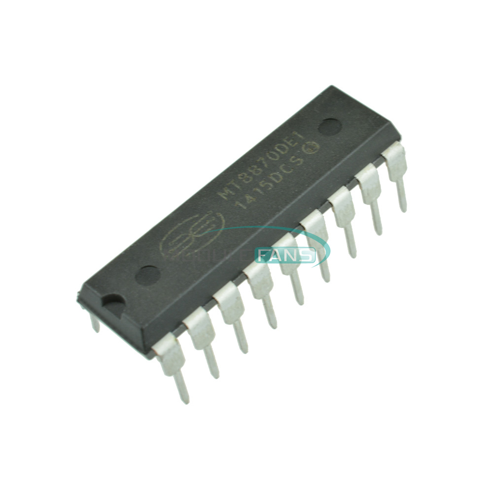 5pcs Mt8870 8870 Mt8870de Ic Cmos Integrated Low Power Dtmf Receiver What Is An Circuit 18 Pdip