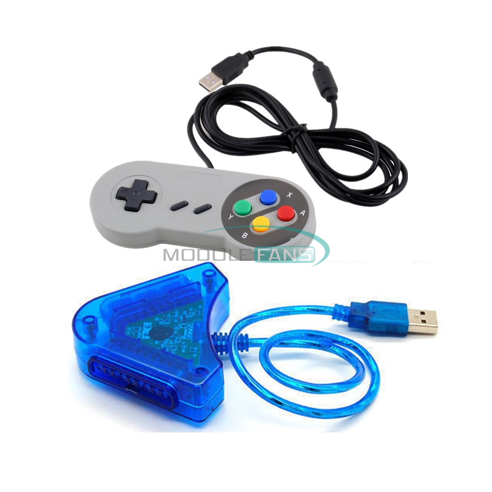 twin usb joystick ps2 to pc driver