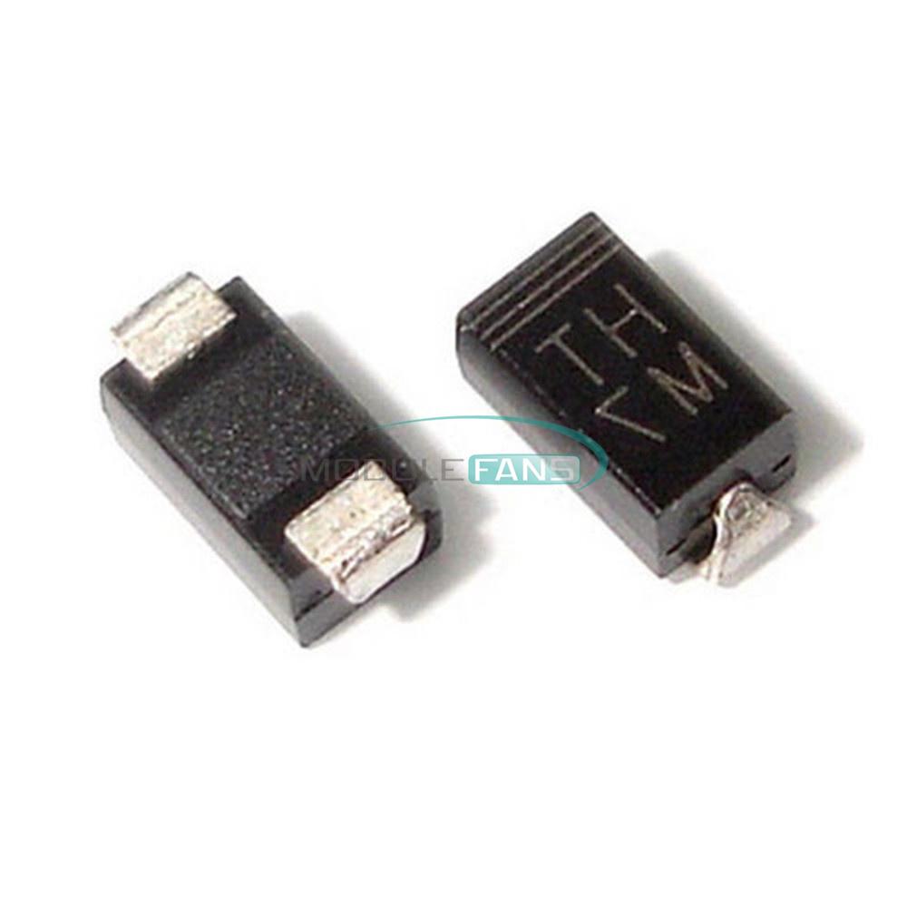 100PCS Diode 1N4007 1A 1000V M7 SMD SMA DO-214AC New
