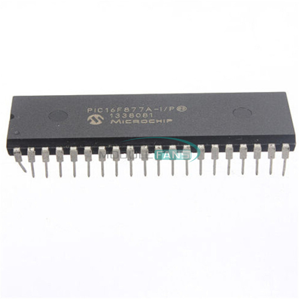 5PCS MCU IC MICROCHIP DIP-40 PIC18F452-I//P PIC18F452