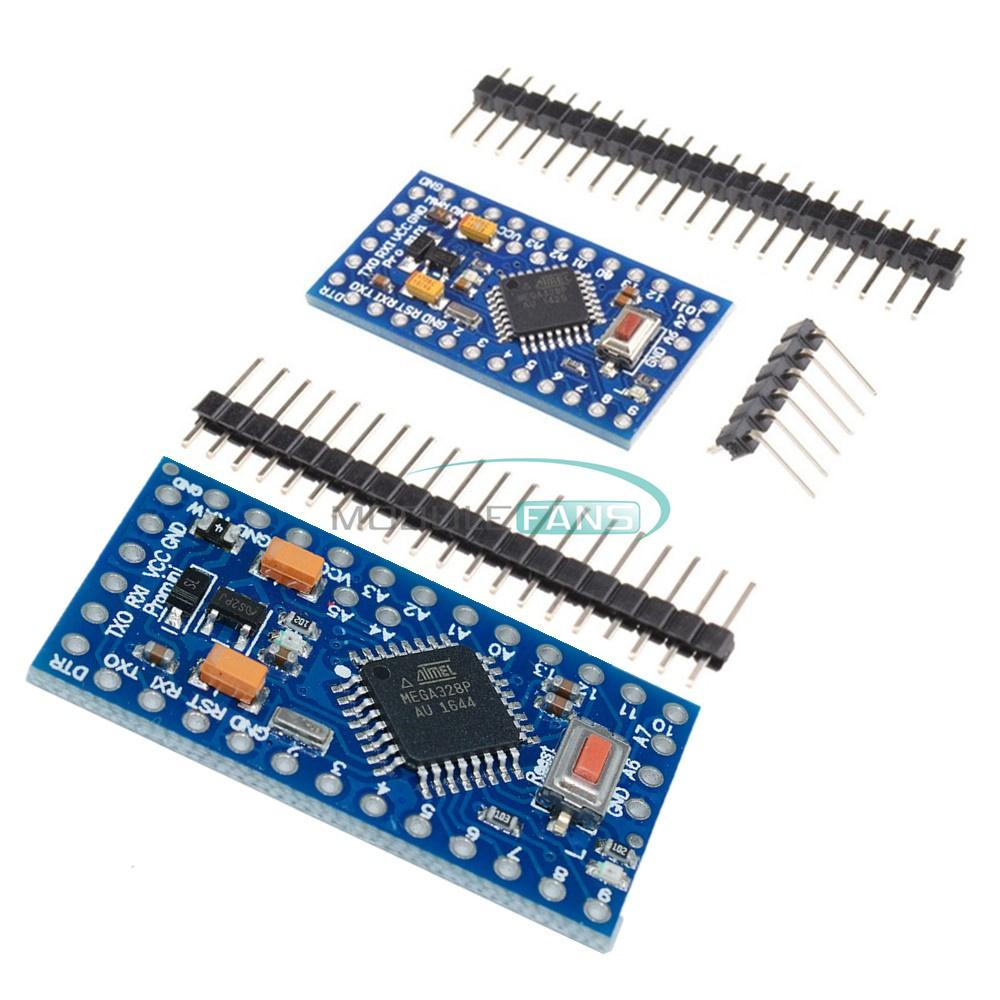 2PCS Pro Mini atmega328 3.3V 8M Replace ATmega128 Arduino Compatible Nano